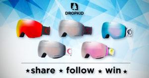 Dropkid - Oakley Skibrille gewinnen. Gewinnspiel.