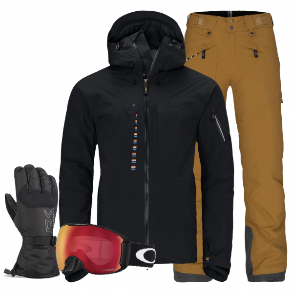 Elevenate Herren Skibekleidung Set - Lake Placid mieten