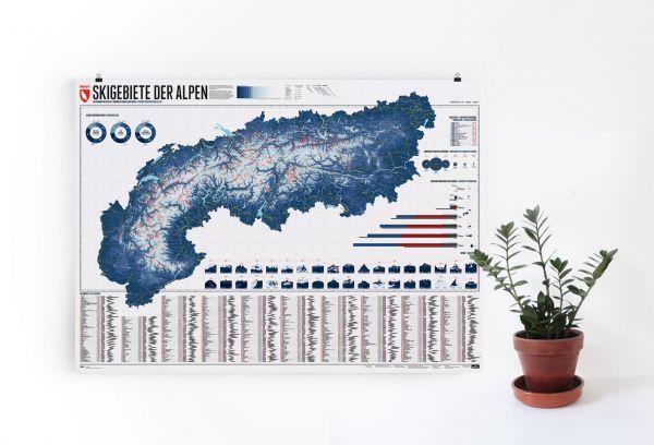 MARMOTA MAPS ALPENKARTE - 630 SKIGEBIETE / EDITION 4 mieten