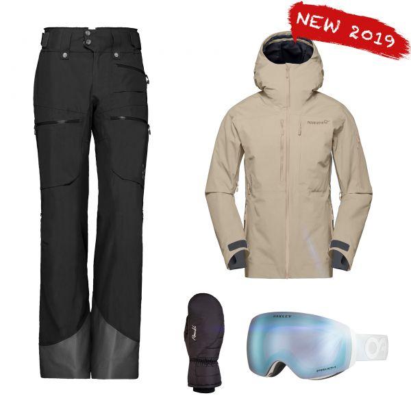 NORRONA Damen Skibekleidung Set - Whitetail Mountain mieten