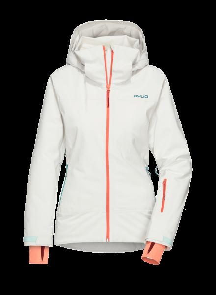 Damen Skijacke BLISTER - foggy white