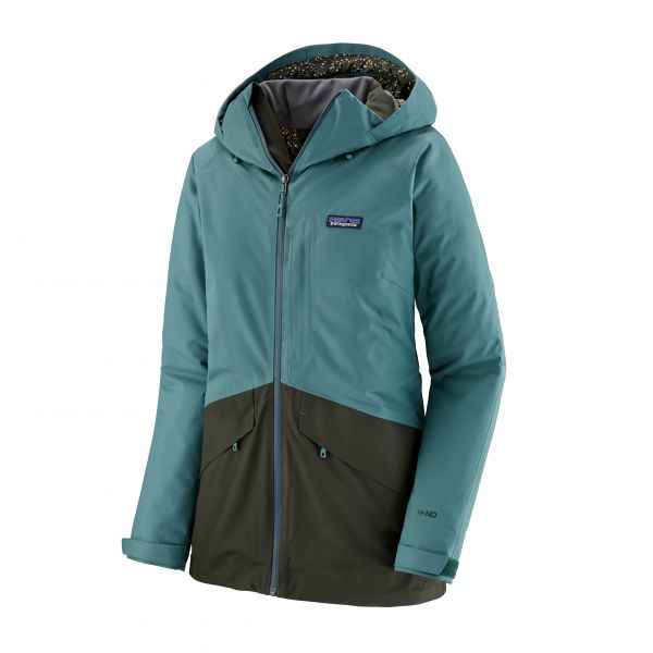 Damen Skijacke Snowbelle - regen green