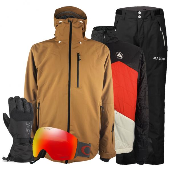 MALOJA Herren Skibekleidung Set - Arctic Valley mieten