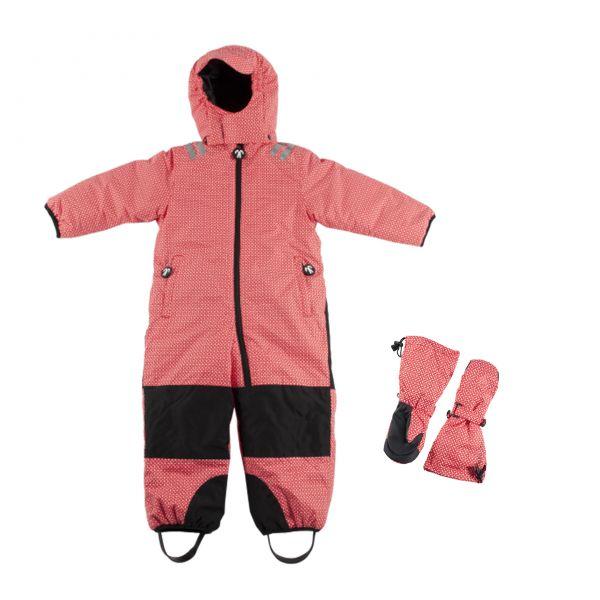 DUCKSDAY Kids Snowsuit Set - TODDLER - funky red mieten