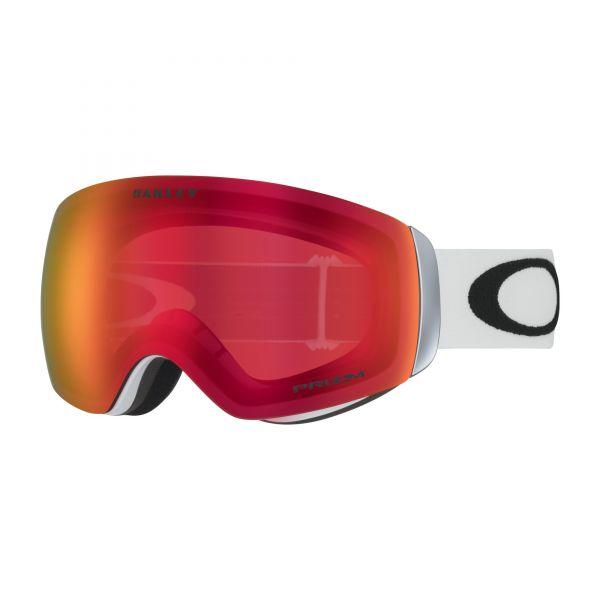 Oakley Flight Deck XM Snow Goggle OO7064-24 - Matte White - Prizm Snow Torch Iridium kaufen